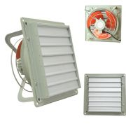 Heavy Duty Commercial Extractor Fan with louver Gravity shutter